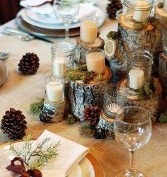 Bridal Blog:  Thinking of a way to add a rustic flair to your holiday entertaining?
