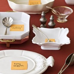 Bridal Blog:  Ok, let's get your table organized for your Thanksgiving!