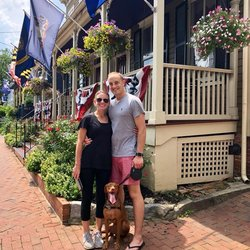 Meet Radcliffe Couple:  Michele + Parker, an Annapolis Love Story