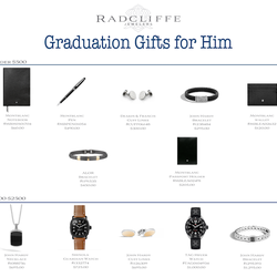 Graduation Gifts for Him